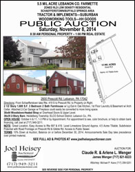 real estate auctions lebanon pa